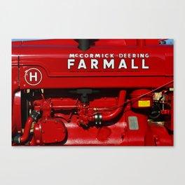 Farmall Restore Canvas Print
