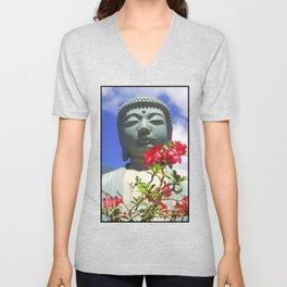 Buddah Serenity Unisex V-Neck