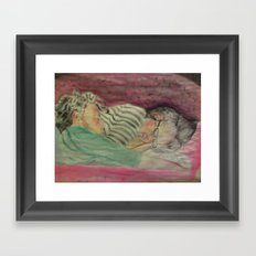 Rainbow Kids Framed Art Print