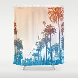 Summer in LA Shower Curtain