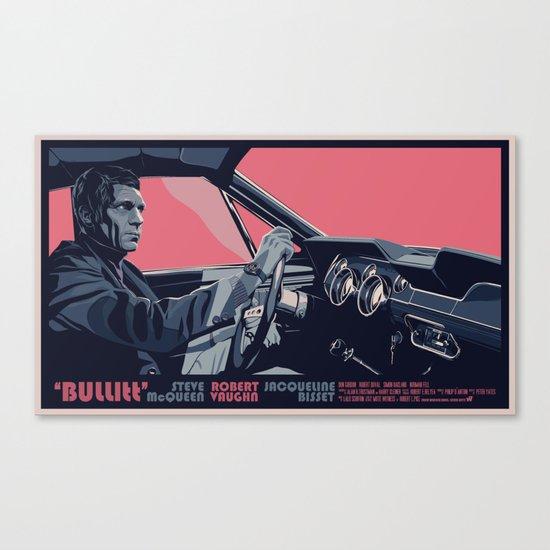 BULLITT - 02 Canvas Print