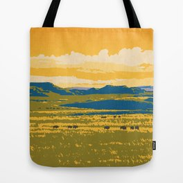 Grasslands National Park Poster Tote Bag