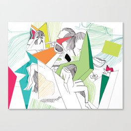 L-eyes Canvas Print