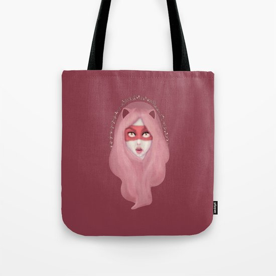 kitty.pink.power Tote Bag