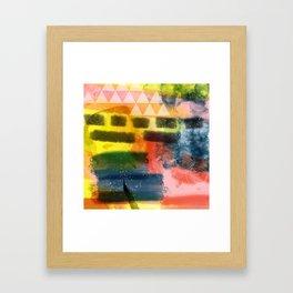 Summer feeling Framed Art Print