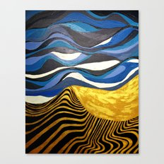 Sun and Tides Canvas Print