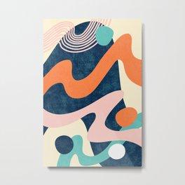 Waves 01 Metal Print