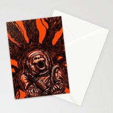 A Spacesuit Has Been Compromised Stationery Cards