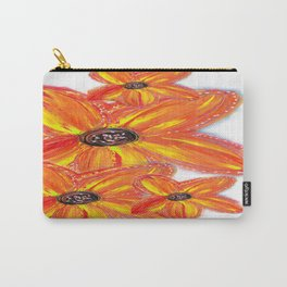 NEW FLORAL CLUSTER Carry-All Pouch