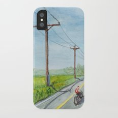 Afternoon Bike Ride iPhone X Slim Case