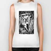 boxing Biker Tanks featuring boxing by natalie shaul
