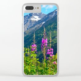 Fireweed ~ Mid-Summer Clear iPhone Case