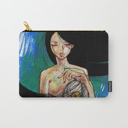 Woosh Hair Girl Carry-All Pouch