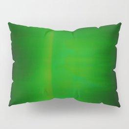 Green Goo Smear Pillow Sham