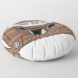 Retro Cassette Tape Floor Pillow
