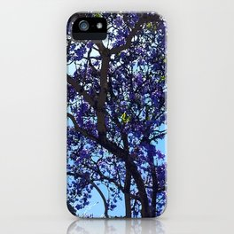 Jacaranda in Spring iPhone Case