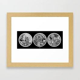 Circle Series Framed Art Print