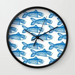 All the Fish Wall Clock