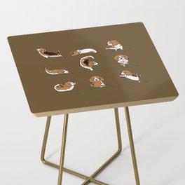 Beagle Yoga Side Table