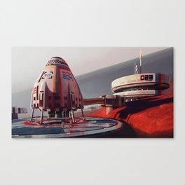 Shuttle 204 Canvas Print