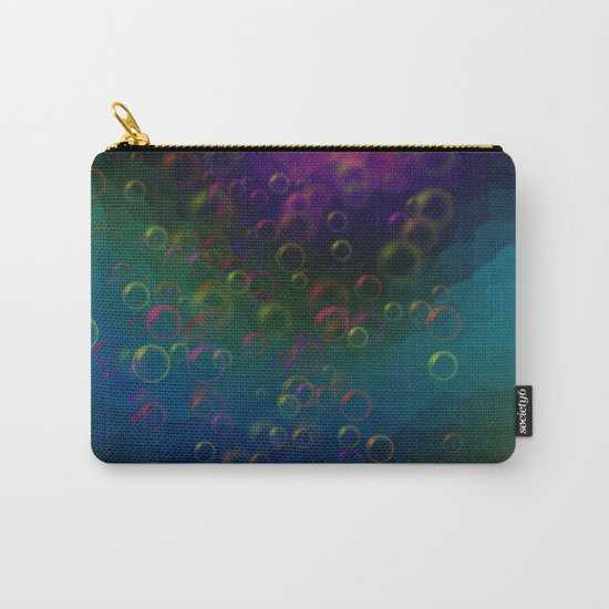 Abstraction. Bubbles. Carry-All Pouch
