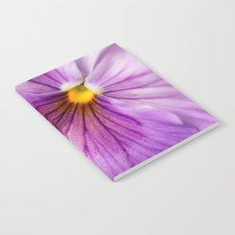 Purple Pansy Flower Close-up #decor #society6 #buyart Notebook