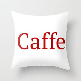 Caffe - Deep Learning Framework Throw Pillow