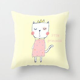 CAT LADY Throw Pillow
