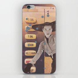 The Elevator iPhone Skin