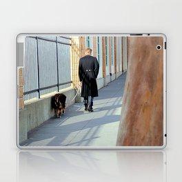 The Shadow Striper's Dog Walk Laptop & iPad Skin
