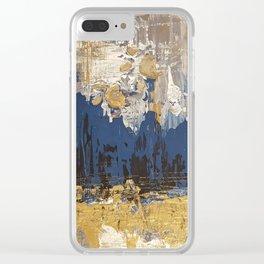 Al A Cat Clear iPhone Case
