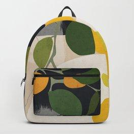 Lemon Abstract Art Backpack