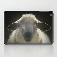 sheep iPad Cases featuring Sheep by Monika Strigel