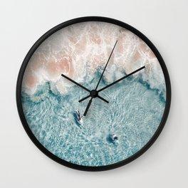 Pink Foam Wall Clock