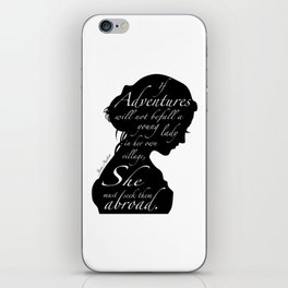 JANE AUSTEN iPhone Skin
