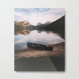 Summer Nights in Wyoming Metal Print