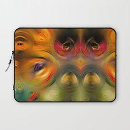 Heaven's Eyes - Abstract Art By Sharon Cummings Laptop Sleeve