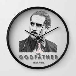 The Godfather - Part Two Wall Clock