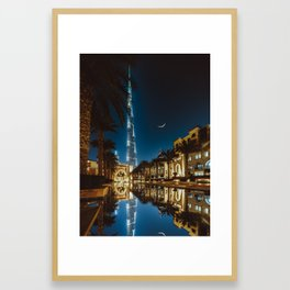 THE PALACE VIEW Framed Art Print