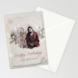 OUAT HAPPY HOLIDAYS // Swan Queen Stationery Cards