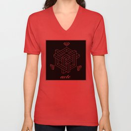Couture by Avte Clothing. Geometric 2.0 Unisex V-Neck