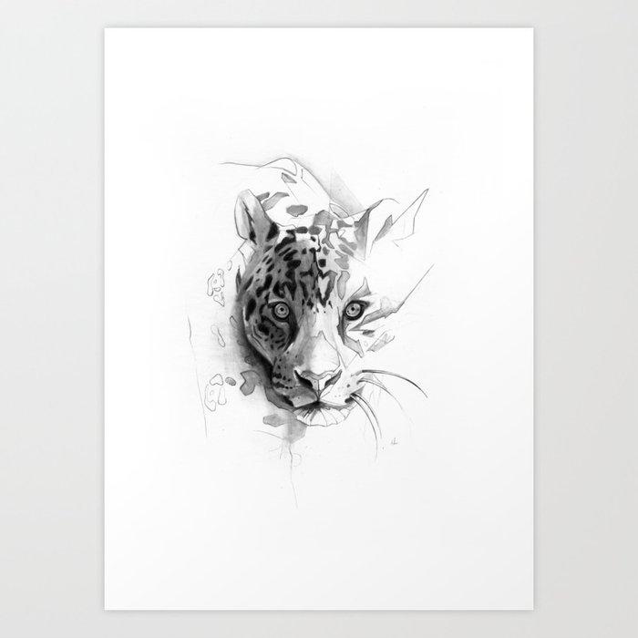 Jaguar Kunstdrucke