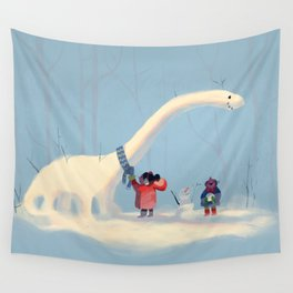 Frozen Dino Wall Tapestry