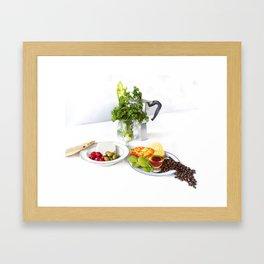 Swedish brunch Framed Art Print