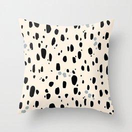 Spotty Cheetah Throw Pillow