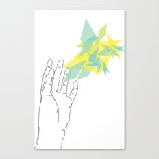 Lines of Your Hand Canvas Print