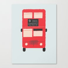 Red Double Decker Bus  Canvas Print