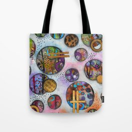 Original Abstract - The Markie Tote Bag