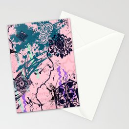 Abstract motif Stationery Cards