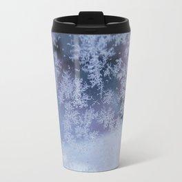 Frozen whispers Travel Mug